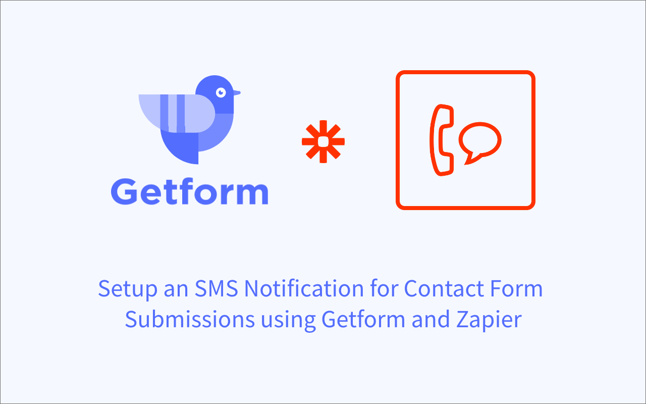 How to setup an SMS notification from your contact form