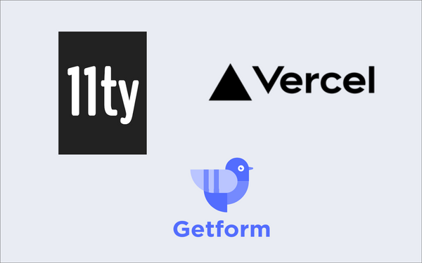 How to setup a contact form on your 11ty site and deploy with Vercel