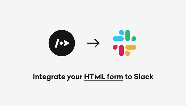 How to integrate your HTML form to Slack